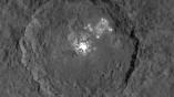Снимок кратера Оккатор, сделанный аппаратом Dawn