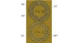Циферблаты и дисплеи на обратной стороне Антикитерского механизма. Реконструкция Tony Freeth / theshamblog.com