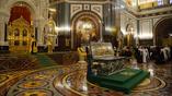 Молебен перед открытием Архиерейского собора