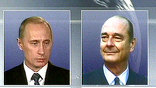 Президенты России и Франции по телефону обсудили ситуацию вокруг Ирака