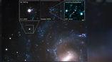 """""""Хаббл"""" получил первое изображение сохранившегося компаньона сверхновой."""