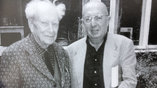 Витторио Страда и Дмитрий Лихачёв, Комарово 1995 г.