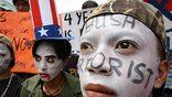 Против иракской войны высказываются 69% американских демократов (в 2003 году – 28%) (фото – EPA)
