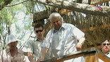 Борис Ельцин и его супруга Наины Ельцина посещали святые места