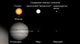 Общая масса тяжёлых элементов в составе свежеоткрытой звезды примерно равна массе Меркурия (а в составе Солнца – 14 массам Юпитера).