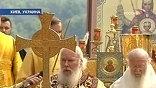 Для Алексия II и Варфоломея  это встреча - первая после восьмилетнего перерыва. Литургию на Владимирской горке в Киеве сегодня они служат вместе