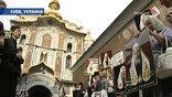 В Киеве-Печерской лавре Патриарх Алексий Второй возглавил богослужение в память святого князя Владимира
