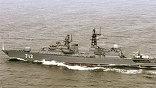 """Сторожевой корабль Балтийского флота """"Неустрашимый"""", выполнявший задание в районе Африканского рога, в воскресенье вернулся в родную гавань"""