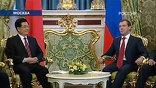 О самой крупной в истории двусторонних отношений сделке объявил президент Дмитрий Медведев после переговоров с председателем КНР Ху Цзиньтао