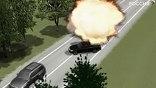 Террорист-смертник вклинился в кортеж Юнус-бека Евкурова на машине, начиненной взрывчаткой.