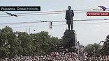 По указанию украинских властей самолет Патриарха Московского и всея Руси Кирилла, находившегося в Севастополе, вылетел в Киев вместо того, чтобы направиться в западноукраинский город Ровно, как это планировалось изначально
