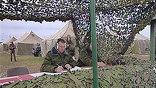 В 7-й военной базе российской армии идет плановая боевая подготовка