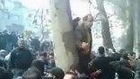 Коран был сожжен на пересечении бульвара Кешаварз и проспекта Каргар