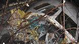 Катастрофа Ту-204 близ аэропорта Домодедово. Фото МЧС