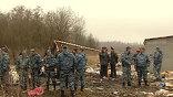 В аэропорту Домодедово приземлился вертолет МЧС, которым доставлены тела погибших