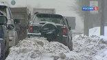 В Новосибирске снег здесь валит почти беспрестанно четвертые сутки