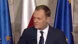 По словам Туска, Польша в ближайшее время представит свой доклад об обстоятельствах и причинах трагедии. Результаты технического расследования, обнародованные накануне экспертами МАК, вызвали неоднозначную реакцию ольского общества.