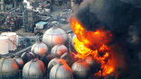 В резульатате землетрясения пожар начался на одной из атомных станций
