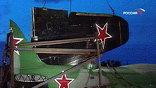 Вечером в понедельник в Москву привезли бомбардировщик времен Второй мировой войны