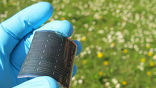 В основе плёнки лежит селенид меди-индия-галлия