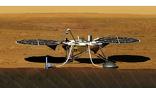 Художественное изображение будущей работы зонда InSight на поверхности Марса