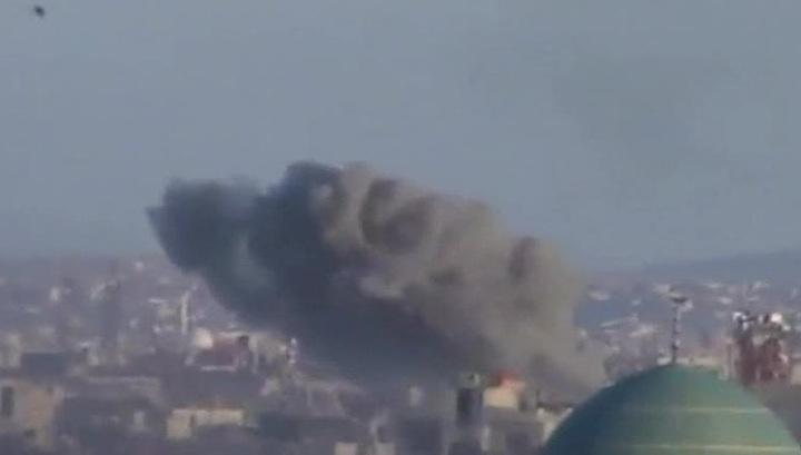 Боевики обстреляли рынок в провинции Дамаск: 37 человек погибли, 35 ранены