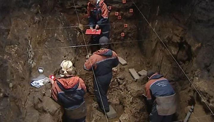 В Крыму найден уникальный античный склеп