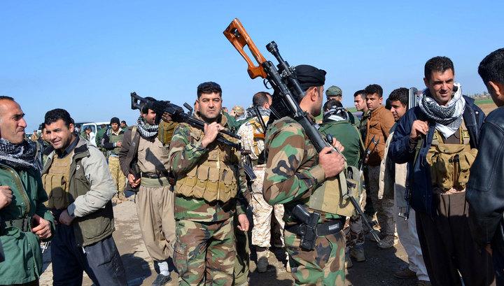 Турция не позволила США направить отряды курдов на сирийскую границу