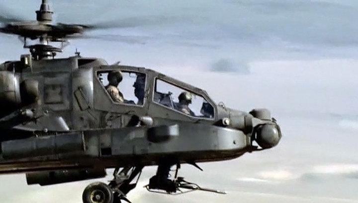 Крушение военного вертолета США: погибли двое