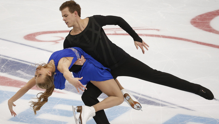 Две российские танцевальные пары вошли в тройку после ритм-танца