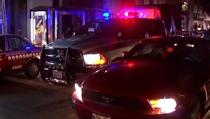 В Мексике бандиты не смогли ограбить туристов и открыли по ним стрельбу