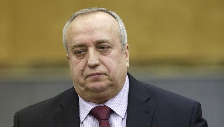 Совет Федерации освободил Клинцевича от должности зампреда комитета
