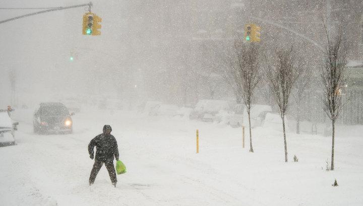 Школы Нью-Йорка закроют из-за снежной бури