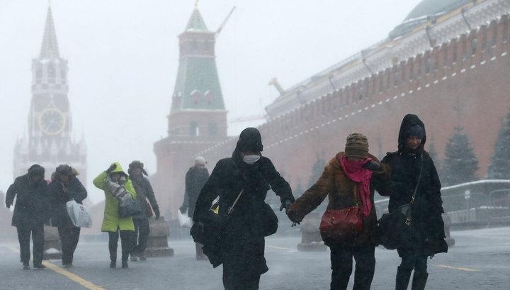 Москву заметут крещенские метели