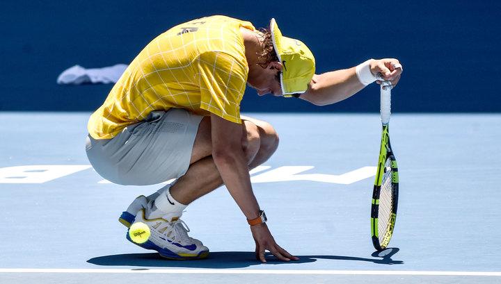 Рафаэль Надаль лишится первой строчки ATP после поражения Тиму в Мадриде