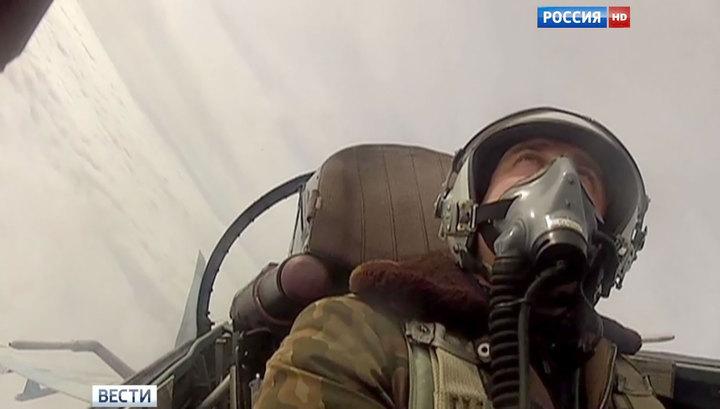 Российские истребители 6 раз отгоняли разведчиков от границы
