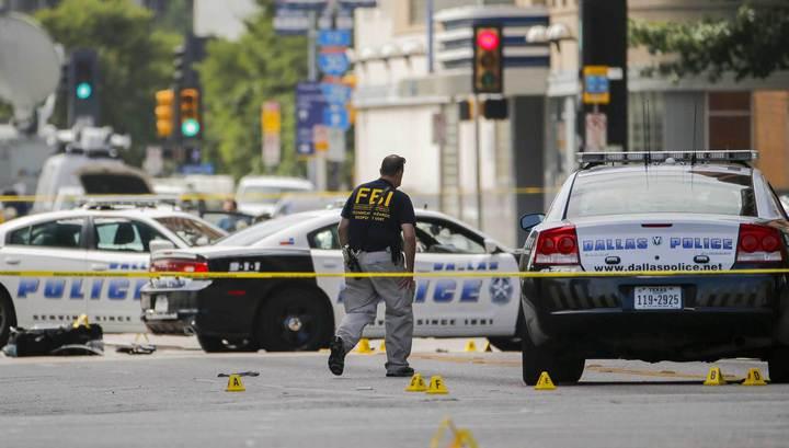 Стрельба в Далласе: тяжело ранены два полицейских
