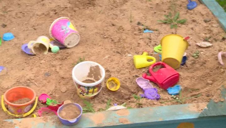 Неизвестный мужчина похитил ребенка с детской площадки