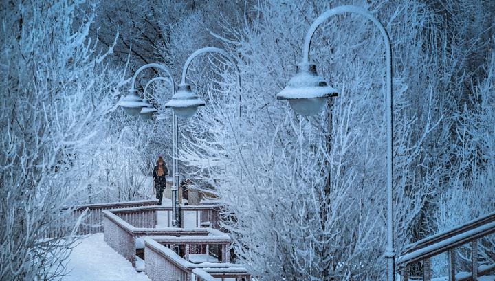 В Москве облачно и морозно