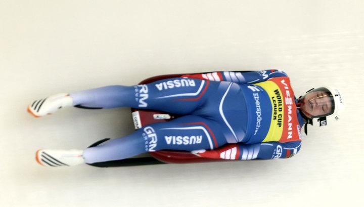 Саночник Репилов стал вторым на этапе Кубка мира