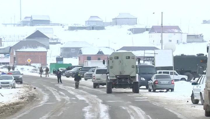 В Дагестане убиты боевики, напавшие на сотрудников ДПС