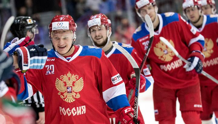 Определился состав сборной России по хоккею на стартовый этап Евротура
