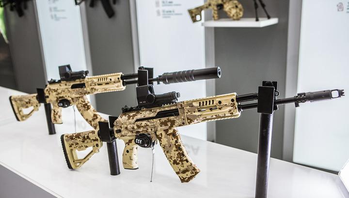 В русской армии приняли навооружение новые автоматы
