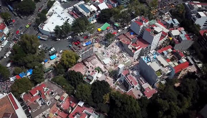 В Мексике в штате Оахака введен режим ЧП после землетрясения