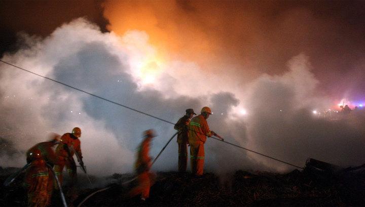 На заводе СNPC на Тайване произошел сильный пожар