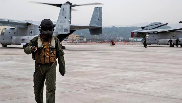 Губернатор Окинавы объявил онедоверии североамериканским военным