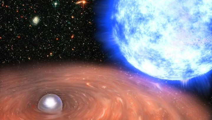 Теорию Эйнштейна проверили с помощью трёх отгоревших звёзд