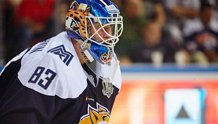 Кошечкин стал лучшим бомбардиром среди вратарей за всю историю КХЛ