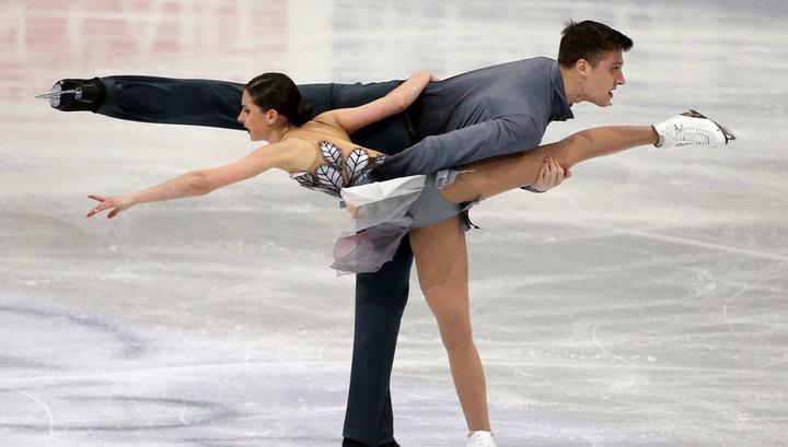 Чемпионат Европы. Забияко и Энберт идут вторыми после короткой программы