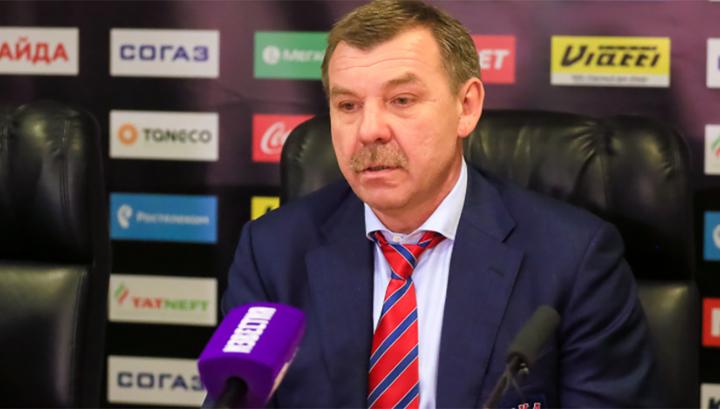 Тренер российских хоккеистов Олег Знарок не стал менять победный состав